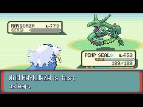 Pokemon Sapphire Part 44: Catching Rayquaza