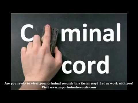How To Erase Criminal Records in Utah
