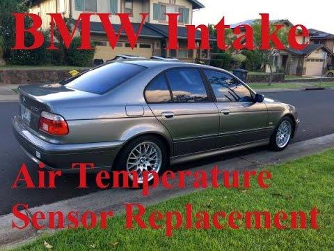 BMW intake air temperature sensor replacement