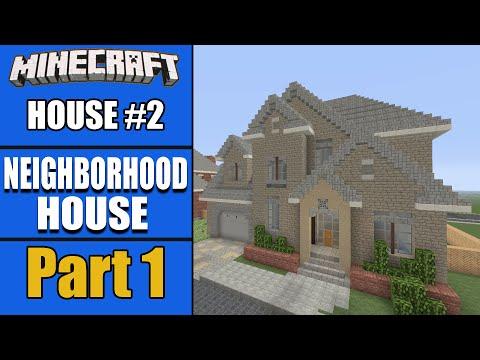 LET S BUILD A NEIGHBORHOOD HOUSE Part 1!! - House #2 S2