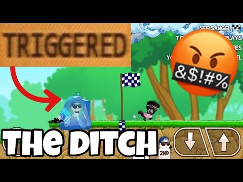 RAGING OVER THE DITCH| Fun run 3:Arena
