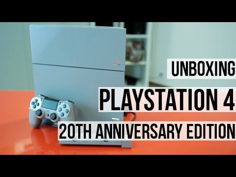 Odpakowujemy PS4 20th Anniversary Edition
