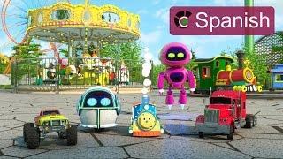 Numbers, Shapes, Colors (SPANISH) - Aprende números, formas y colores en el parque de atracciones