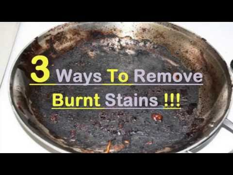 3  Ways To Clean Tough Burnt Stains From Utensils
