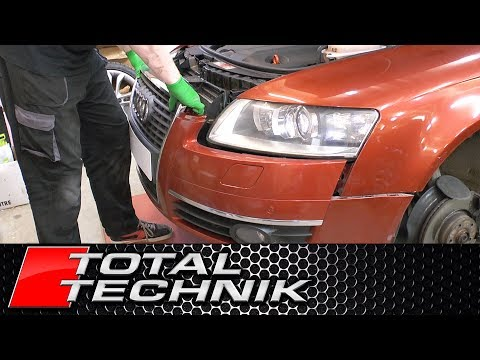 How to Remove Front Bumper - Audi A6 S6 RS6 - C6 4F - 2004-2011 - TOTAL TECHNIK