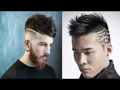 Top Fashionable Hairstyles For Men 2017-2018-Best Trendy Haircuts For Men 2017-2019