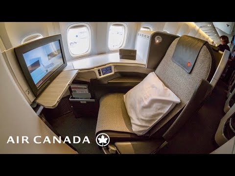 Air Canada AC34 Boeing 777 Business Class Sydney - Vancouver Flight Review incl Air NZ Lounge