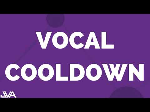Vocal Cooldown Exercise #5