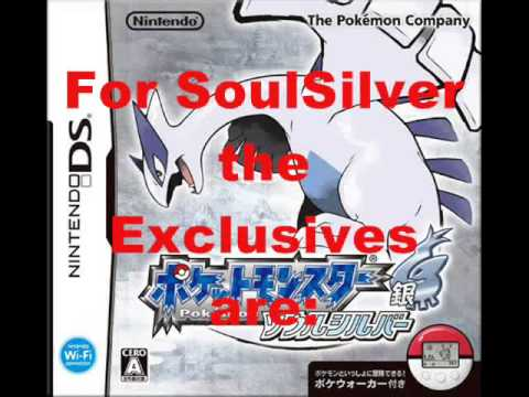 Differences Between Pokemon HeartGold and SoulSilver