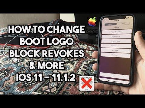 How to change Boot Logo, block App Revokes & More on iOS 11 - 11.1.2 (No Jailbreak)