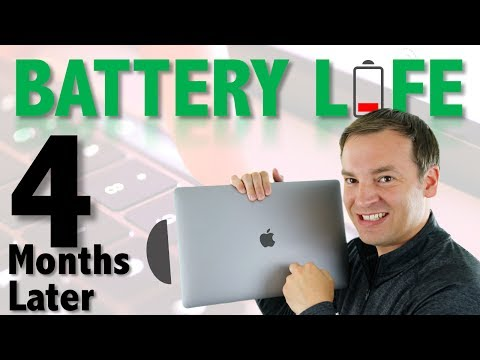 MacBook Pro 2016 Battery Life - 4 Months Later