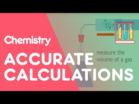 Calculating reliability, accuracy and precision | The Chemistry Journey | The Fuse School