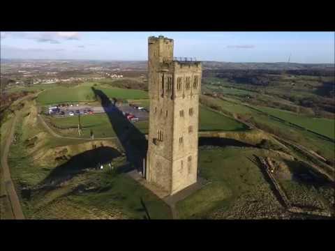Castle Hill, Huddersfield by Drone