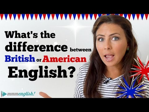 What's the difference between American & British English? 🇺🇸🇬🇧