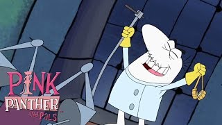Big Nose is a Mad Scientist! | 53 Min | Pink Panther and Pals