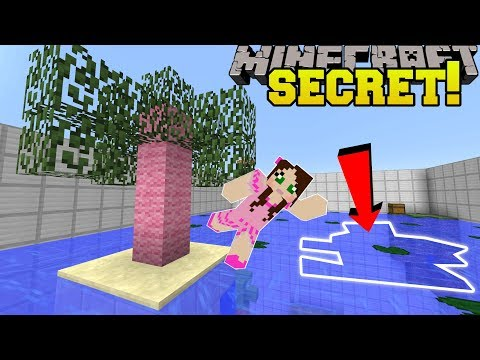 Minecraft: THIS WATER HAS A SECRET!!! - Find The Button Biome Explorer - Custom Map