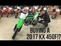 BUYING A 2017 KX 450F!?