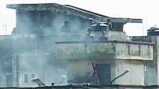 Terrorists attack police station in Jammu, fierce gun battle on