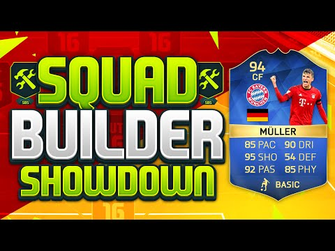FIFA 16 SQUAD BUILDER SHOWDOWN!!! TEAM OF THE SEASON MULLER!!! 94 Rated Thomas Muller Squad Duel