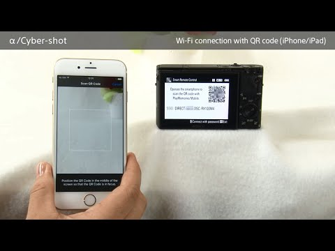 How to make a Wi-Fi connection using QR code For iPhone/iPad