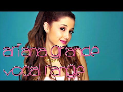 Ariana Grande Vocal Range | E♭3 - E7 | HD