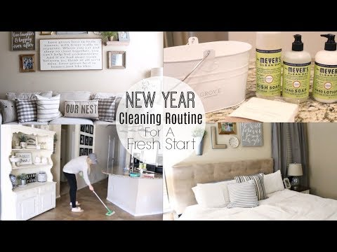 NEW YEAR CLEANING ROUTINE | PURGING AND DECLUTTER MOTIVATION