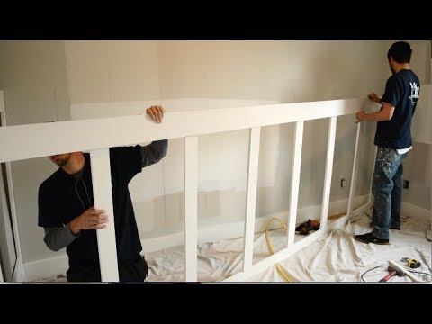 Baby Nursery Makeover - Laying Out the Wainscot