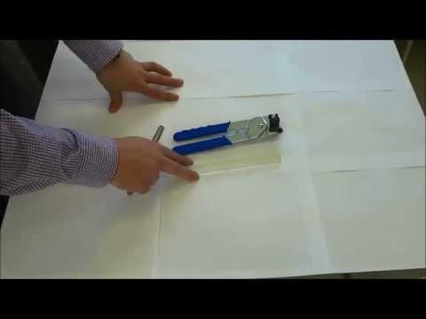 How To Cut Glass Mosaic Backsplash Tile (Handheld Tile Cutter)