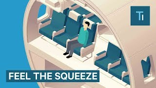 How Airline Seats Have Shrunk Over The Years