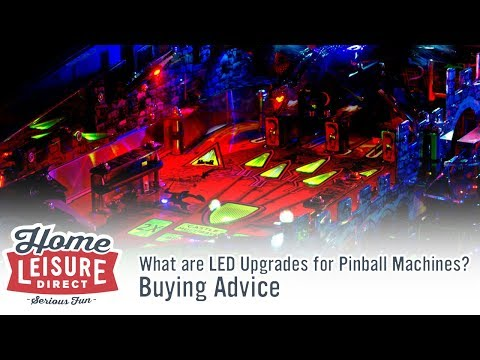 What are LED Upgrades for Pinball Machines?