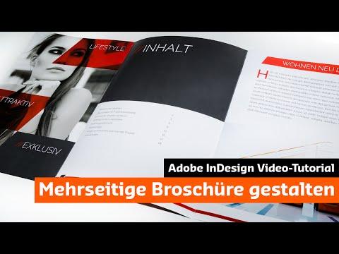 Eine moderne Broschüre mit InDesign gestalten (Tutorial + Unboxing)