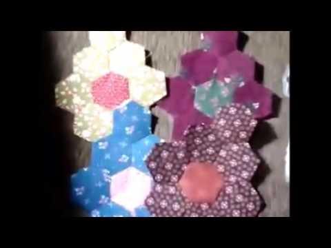Grandmother's Flower Garden Hexagon Quilt Challenge