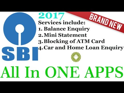 SBI Balance inquiry APPS