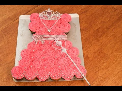 Princess Pull Apart Cake!