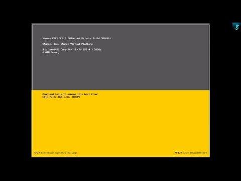 ESXi Server Installation