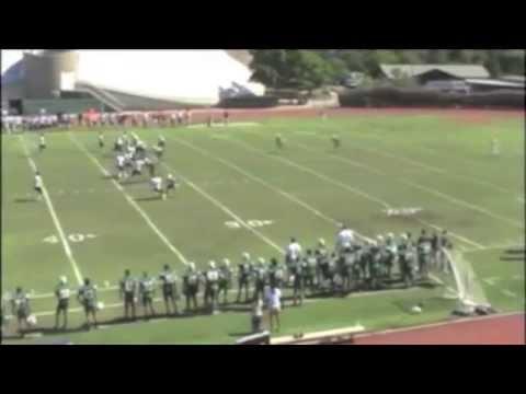 Greg Holsworth Occidental Football Highlights