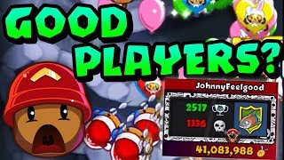 GOOD Players In Dreadbloon l Bloons TD Battles