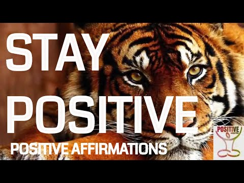 Positive Thinking - Positive Affirmations Mantras Inspiration with Meditation - POSITIVE ENERGY How