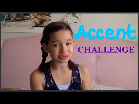 Accent Challenge + Miranda Sings(make sure to watch till the end)