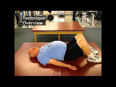 Fall Prevention Exercises (Flexibility Series) - Supine Snow Angels
