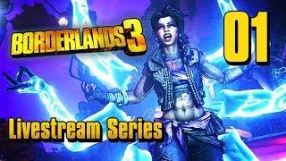 Borderlands 3 - Livestream Part 1: Children of the Vault