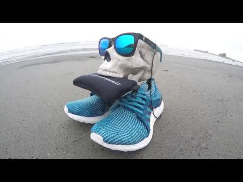 Ocean Plastic Sunglasses and Shoes, Norton Point, Parley Adidas UltraBoost
