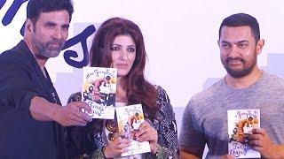Mrs. FunnyBones Twinkle Khanna BOOK LAUNCH | Akshay Kumar, Aamir Khan | FUNNY VIDEO