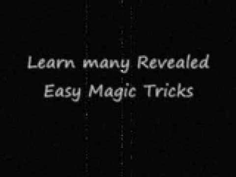 Learn easy and simple revealed magic tricks