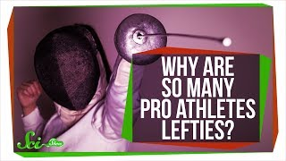 Why Are So Many Pro Athletes Lefties?