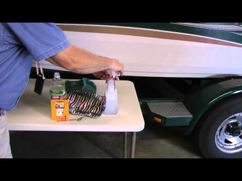 Save Money Make your own boat glass cleaner the easy way. Removes water spots