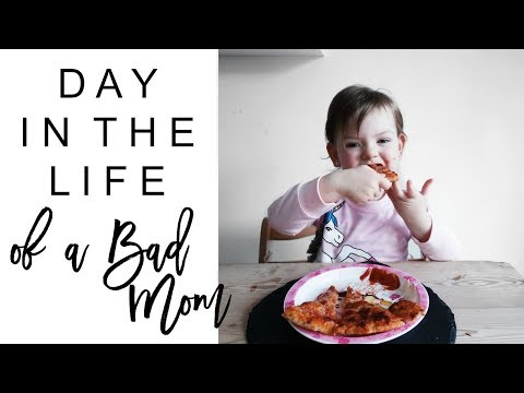 DAY IN THE LIFE OF A BAD MOM | DITL of a Mum/Mom of 2