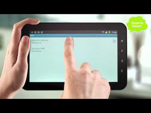 Samsung Galaxy Tab - Cómo configurar tu acceso a Internet