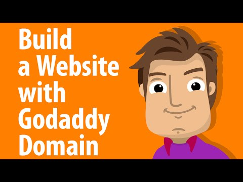 How to Set Up Website With GoDaddy - 2018!