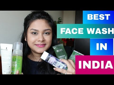 BEST FACE WASH For Oil Dry Sensitive Skin In India | #BEGINNER'S #SkinCare Guide Affordable FaceWash
